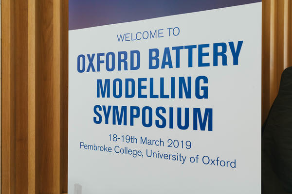 Oxford Battery Modelling Symposium 2019