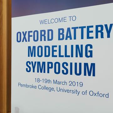 Oxford Battery Modelling Symposium 2019
