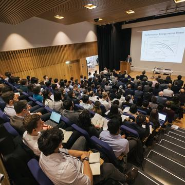 The audience at the oxford battery modelling symposium 2019